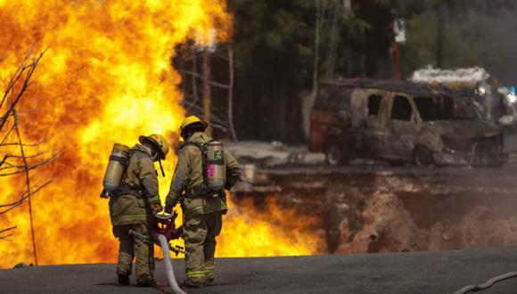 El robo de gas pone en riesgo a las poblaciones cercanas a los ductos. (AFP).