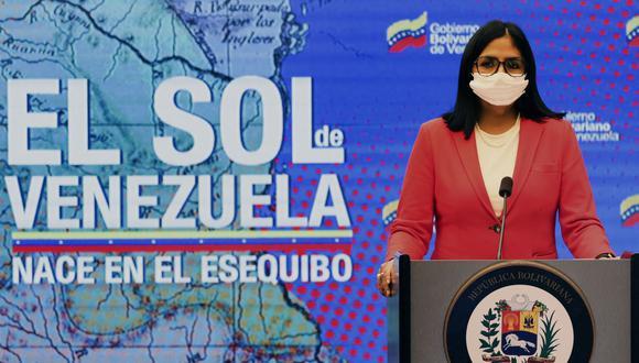 La vicepresidenta de Venezuela, Delcy Rodríguez, anunció que su país volverá a la cuarentena radical por el incremento de casos de coronavirus. (AFP).