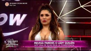 """""""Reinas del Show"""": Lady Guillén es la primera eliminada de la competencia"""
