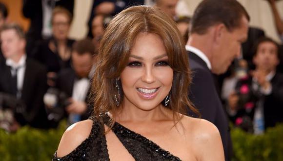 Thalía. (Foto: Agencia)