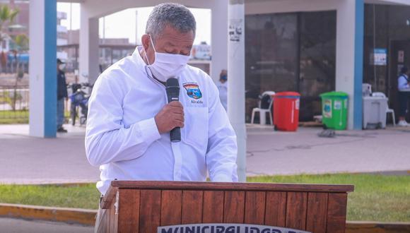 Claudio Marcatoma Ccahuana, alcalde de Punta Negra, falleció el viernes 26 de febrero por COVID-19 | Foto: Facebook Municipalidad de Punta Negra