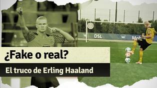 El reto con el balón de Erling Haaland que se ha vuelto viral