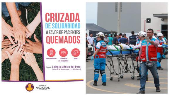 Colegio Médico del Perú (CMP) informó que viene recibiendo donaciones de medicamentos. (Captura: Facebook CMP/GEC)