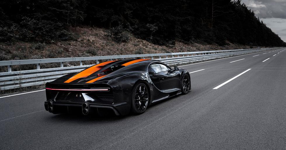 Además de una mayor potencia, el Bugatti Chiron Super Sport 300+ cuenta con una configuración aerodinámica específica. (Fotos: Bugatti).