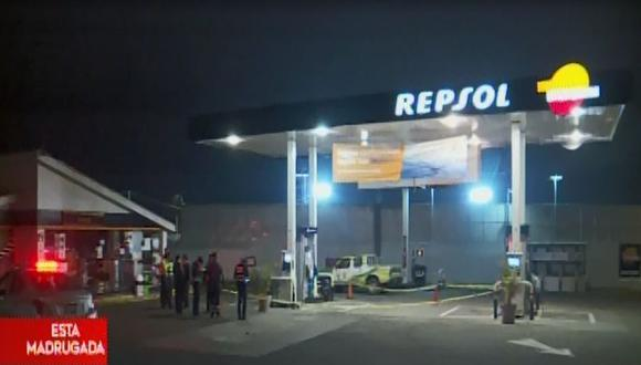 Gregory Monzalbe puso resistencia al robo. Uno de los delincuentes sacó un arma y le disparó en la cabeza.(Captura: América Noticias)