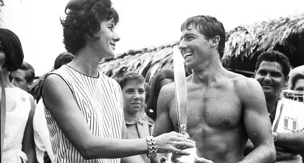 En 1965 Felipe Pomar ganó el campeonato de tabla en Punta Rocas. Foto: GEC Archivo Histórico