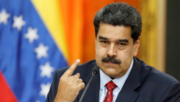 """Venezuela deporta a 59 colombianos acusados de """"terrorismo"""" por un complot denunciado por Nicolás Maduro. (Reuters)."""