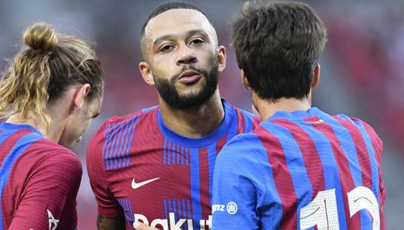 Memphis Depay tiene contrato con Barcelona hasta mediados del 2023. (Foto: AFP)