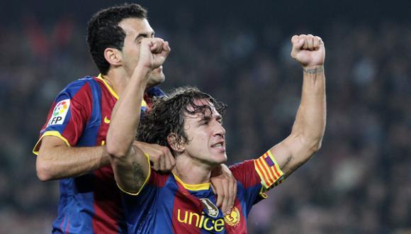 Sergio Busquets hereda el número 5 del retirado Carles Puyol