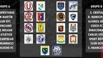 Grupos de la Fase 1 de la Liga 1