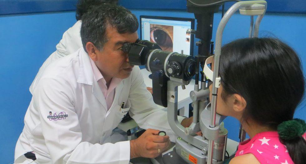 """La investigación se inició debido al gran número de casos en consultorios externos de niños con """"ojo perezoso"""".  (INSN de Breña)"""