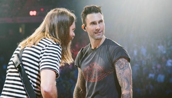 Maroon 5 se presentará en el Estadio Nacional junto a Incubus