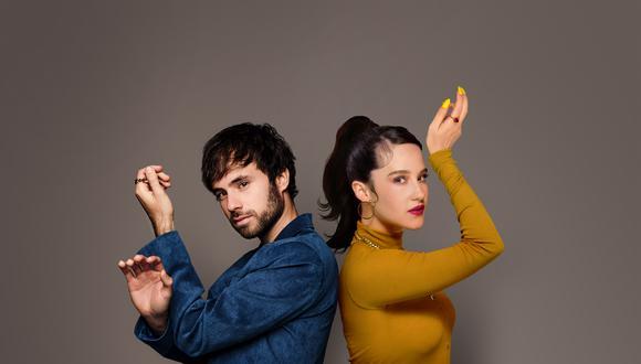 Unidos por el Photoshop: el cantante peruano y la artista mexicana crearon su tema conjunto a la distancia.