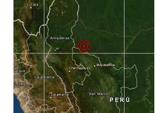 San Martín: sismo de magnitud 4,1 remeció Nueva Cajamarca esta tarde
