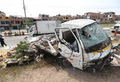 Accidente en el Callao: vehículo que causó la muerte de padre e hijo tenía frenos en mal estado