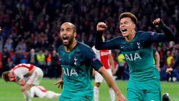 Ajax vs. Tottenham: mira el golazo de Lucas Moura para el 3-2 que metió a los 'Spurs' a la final de la Champions League. (Foto: Reuters)