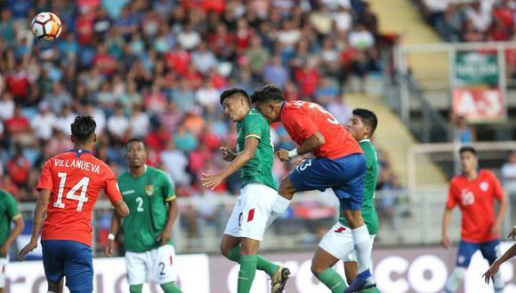 Chile empató 1-1 frente a Bolivia por el Sudamericano Sub 20. El duelo se dio por la fecha 1 del Grupo A en el Estadio El Teniente  (Foto: agencias)