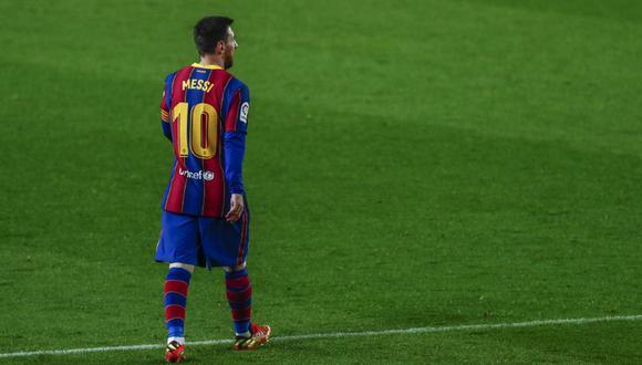 La continuidad de Messi en el Barcelona todavía no está asegurada. (Foto: AP)