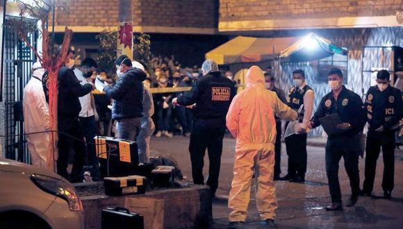 El crimen ocurrió la noche del lunes 2 de junio en San Martín de Porres. (Foto: César Grados/@photo.gec)