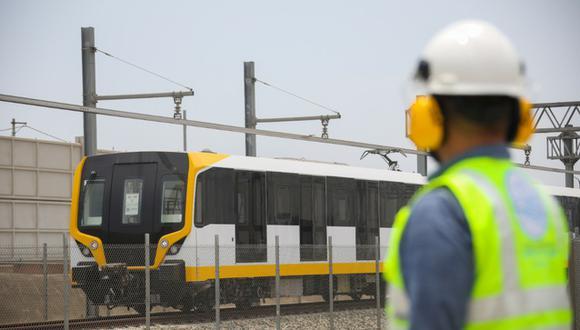 En la primera etapa de la Línea 2 del Metro de Lima se pondrán a disposición cinco trenes. Cada uno trasladará a 1.200 personas. (Foto: MTC)