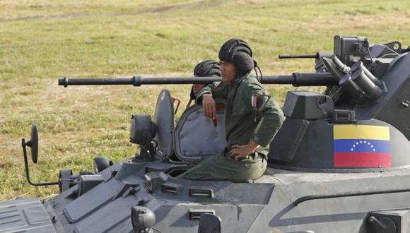 Venezuela anunció el despliegue de militares en la frontera con Colombia. Foto: Getty Images, via BBC Mundo