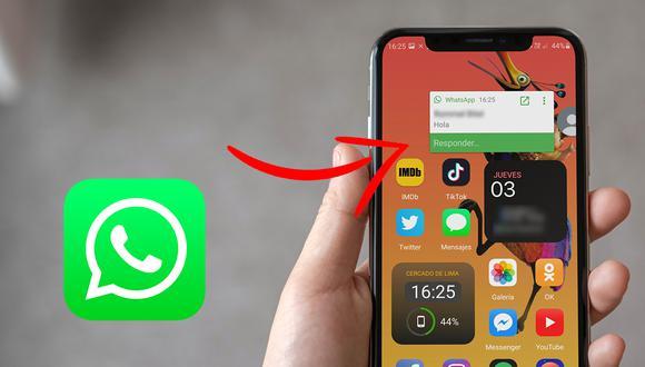 ¿Quieres tener las 'burbujas flotantes' de Facebook Messenger en WhatsApp? Usa estos pasos. (Foto: Mockup)