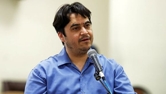Ruhollah Zam dirigió un sitio web llamado AmadNews que publicaba información sobre funcionarios de Irán. (Foto: Ali Shirband / AP).