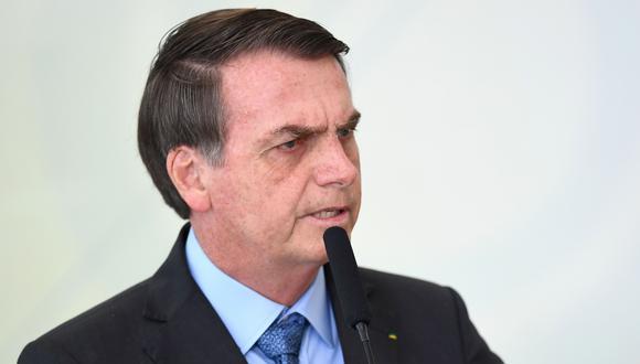 Jair Bolsonaro no oculta su preferencia por Mauricio Macri, quien busca la reelección en Argentina. (Foto: AFP)