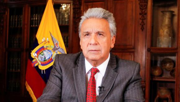 El presidente ecuatoriano, Lenín Moreno anunció la liberación del precio de las gasolinas tras eliminar el subsidio o ayuda estatal que se ha establecido por décadas, y anunció reformas laborales y tributarias que presentará al Parlamento, en el marco del acuerdo crediticio que mantiene con el FMI. (Foto: EFE).