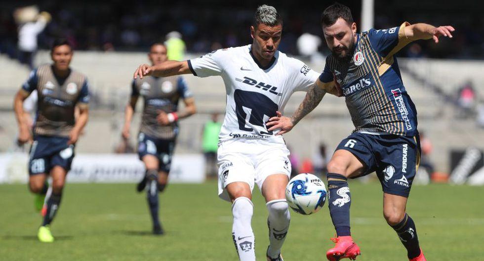 Estas fueron las mejores imágenes del duelo entre Pumas y Atlético San Luis | EFE /Mario Guzmán