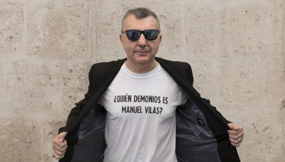 Manuel Vilas (Huesca, 1962) asegura que está escribiendo una novela sobre el amor en el contexto de la pandemia. (Foto: Daniel Mordzinski)