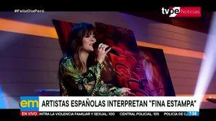Tema 'Fina Estampa' de Chabuca Granda es interpretado por artistas españolas