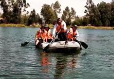 Junín: buscan a joven desaparecido en laguna Ñahuinpuquio