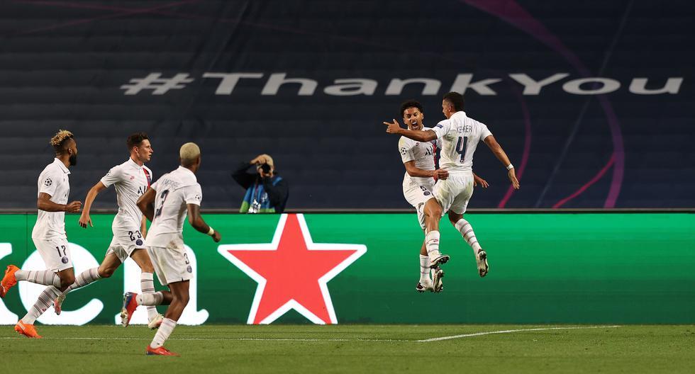 PSG venció al Atalanta y avanzó a semifinales de la Champions League