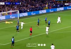 PSG vs. Brujas: gran jugada y asistencia de Mbappé para el 1-0 anotado por Ander Herrera en Champions League | VIDEO