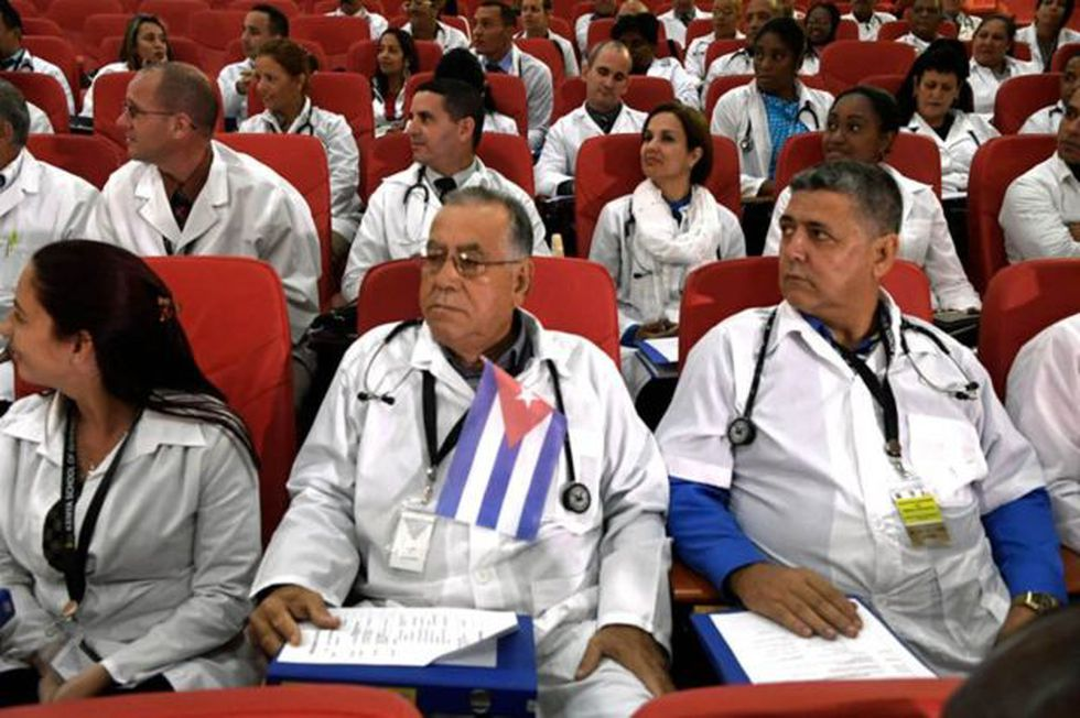 Hay médicos cubanos en misiones internacionales en más de 60 países del mundo.