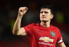 Harry Maguire, el nuevo capitán del Manchester United tras la salida de Ashley Young