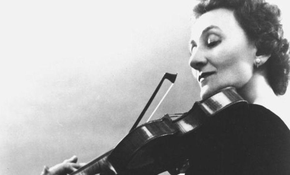 Erica Morini fue una destacada concertista austriaca. (Foto: AFP)