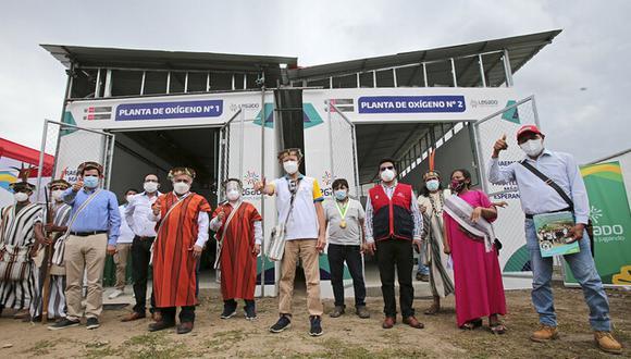 La nueva planta de oxígeno será de vital importancia para enfrentar la segunda ola de la pandemia en la región Junín. (Foto: MTC)