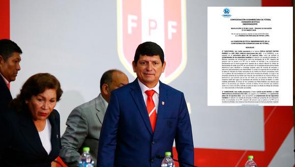 Oficial: Conmebol sancionó con multa de 25 mil dólares a la junta directiva de la FPF | Foto: Jesús Saucedo/GEC