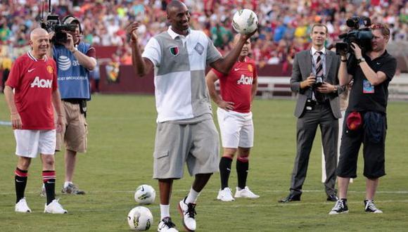 Kobe Bryant quiere comprar un equipo de fútbol italiano