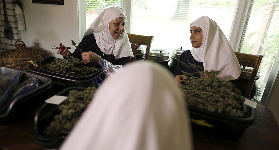 """Las """"monjas"""" que venden marihuana para curar al mundo - 5"""