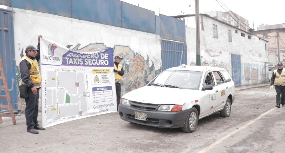 Municipalidad de La Victoria habilita corredor especial para taxis en Gamarra