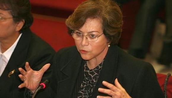 Gladys Echaíz fue fiscal de la Nación entre el 2008 y el 2011. (Foto: USI)