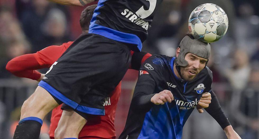 Estas fueron las mejores imágenes del duelo entre Bayern Múnich vs. Paderborn por la jornada 23 de la Bundesliga. AFP / Guenter SCHIFFMANN
