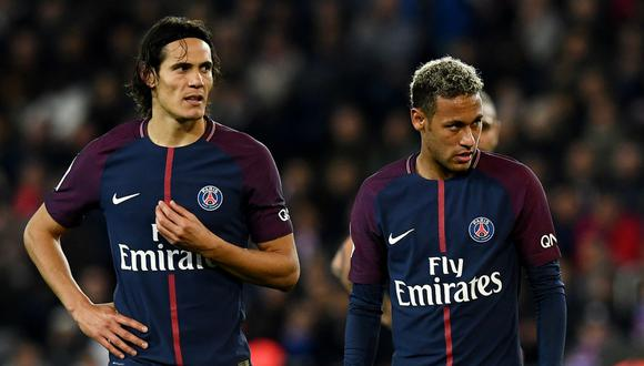 PSG juega de local este miércoles (03:00 pm. / EN VIVO ONLINE) ante el Dijon por la jornada 21° de la Ligue 1. Neymar y Cavani se perfilan como titulares en la ofensiva parisina. (Foto: AFP)