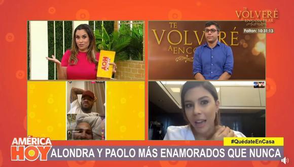 """Alondra García Miró sobre Yahaira Plasencia: """"No es mi amiga... La he visto una vez y me cayó muy bien"""". (Foto: Captura de video)"""