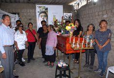 Áncash: restos de peruano fallecido durante protestas en Chile fueron velados por sus familiares