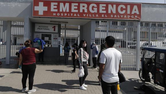 El Hospital de Emergencias de Villa El Salvador brinda, actualmente, atenciones especializadas de COVID-19. (GEC)