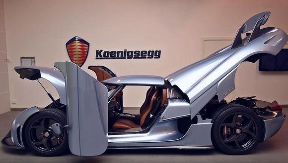 Koenigsegg convierte al Regera en un 'Transformer' [VIDEO]